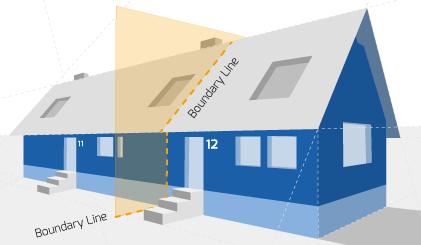 Party Wall illustration for Ellesmere Port Surveyors